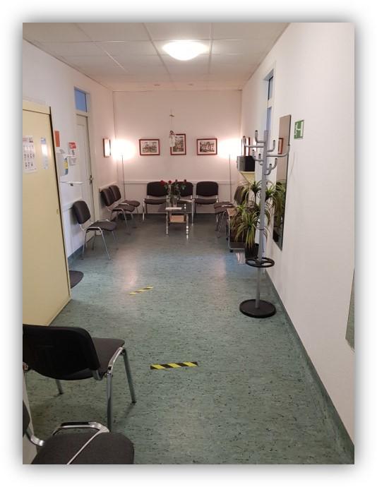 Hausarztpraxis in Berlin-Hohenschönhausen - Wartebereich