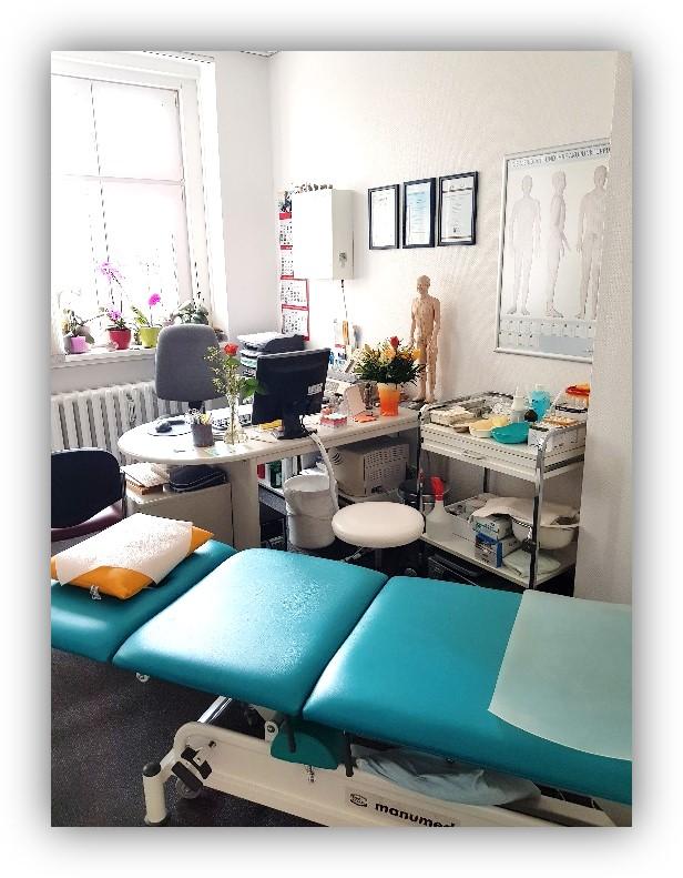 Büro und Behandlung