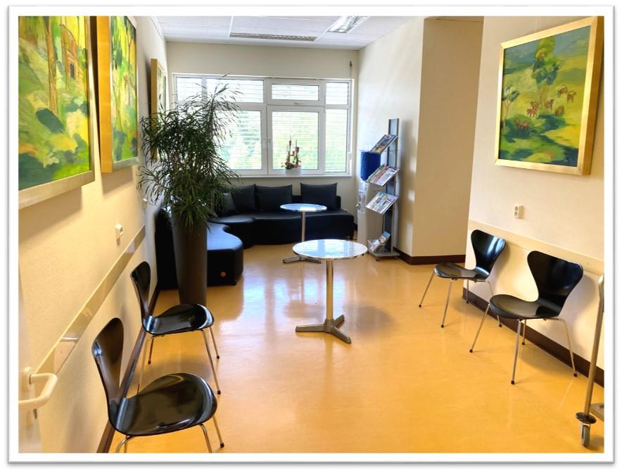 Wartebereich Dermatologie Zehlendorf