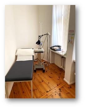 EKG Blutentnahme Pneumologie und Infektiologie Berlin Charlottenburg