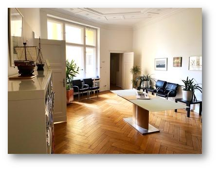 Wartezimmer Pneumologie und Infektiologie Berlin Charlottenburg