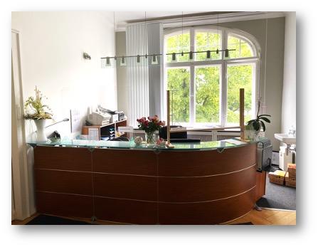 Empfang Pneumologie und Infektiologie Berlin Charlottenburg